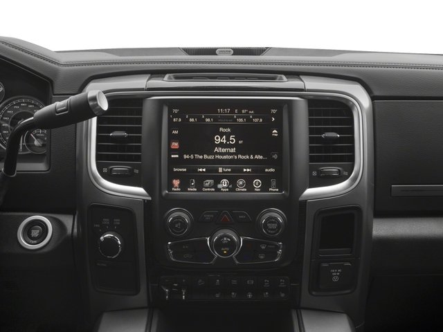 2017 Ram Truck 2500 Prices and Values Crew Cab Limited 2WD stereo system