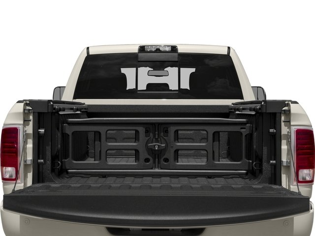 2017 Ram Truck 2500 Prices and Values Crew Cab Longhorn 4WD open trunk