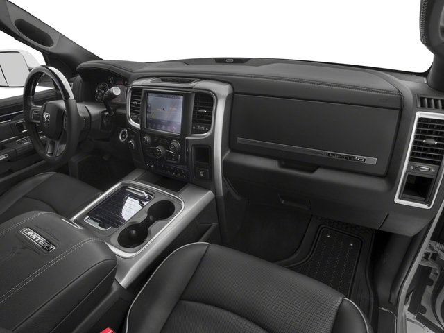 2017 Ram Truck 2500 Prices and Values Crew Cab Longhorn 4WD passenger's dashboard
