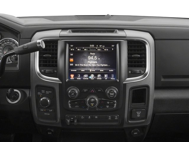 2017 Ram Truck 2500 Prices and Values Crew Power Wagon 4WD center console