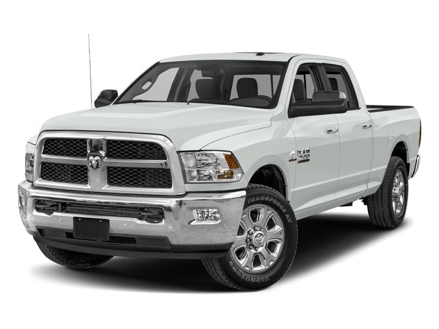 2017 Ram Truck 2500 Pictures 2500 SLT 4x2 Crew Cab 8' Box photos side front view