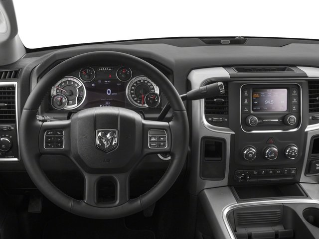 2017 Ram Truck 2500 Pictures 2500 SLT 4x2 Crew Cab 8' Box photos driver's dashboard