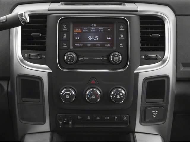 2017 Ram Truck 2500 Pictures 2500 Lone Star 4x2 Crew Cab 8' Box photos stereo system