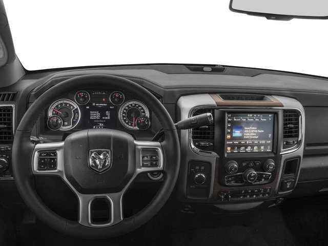 2017 Ram Truck 2500 Pictures 2500 Laramie 4x2 Crew Cab 8' Box photos driver's dashboard