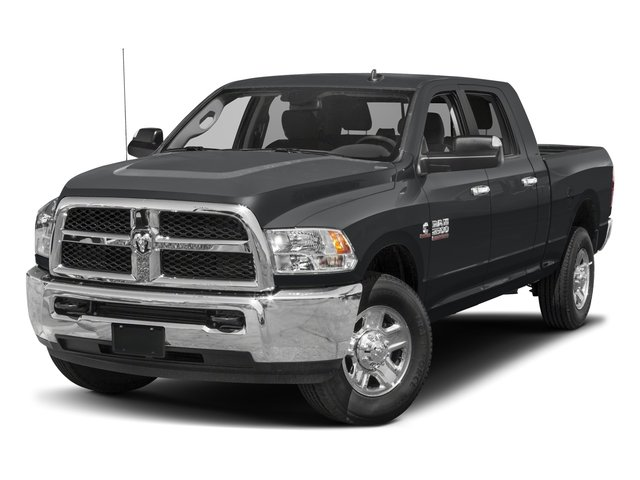 2017 Ram Truck 2500 Pictures 2500 Mega Cab SLT 4WD photos side front view