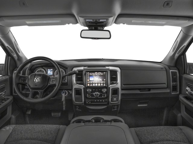 2017 Ram Truck 2500 Pictures 2500 SLT 4x2 Mega Cab 6'4 Box photos full dashboard