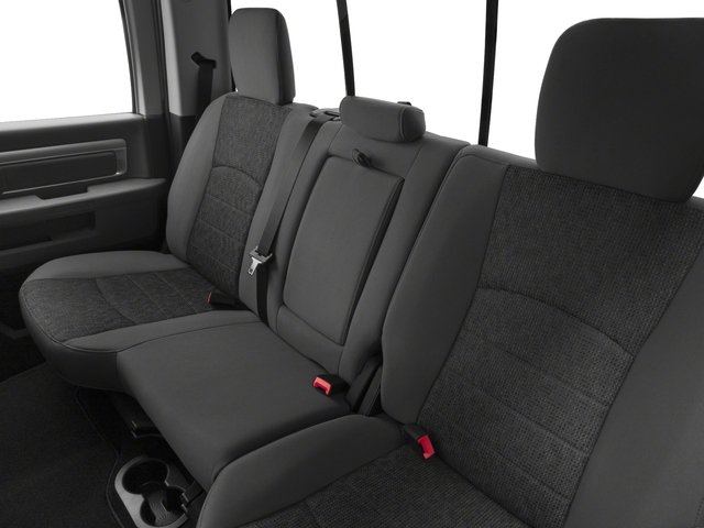 2017 Ram Truck 3500 Prices and Values Crew Cab Limited 2WD backseat interior