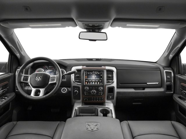 2017 Ram Truck 3500 Pictures 3500 Laramie Longhorn 4x2 Mega Cab 6'4 Box photos full dashboard