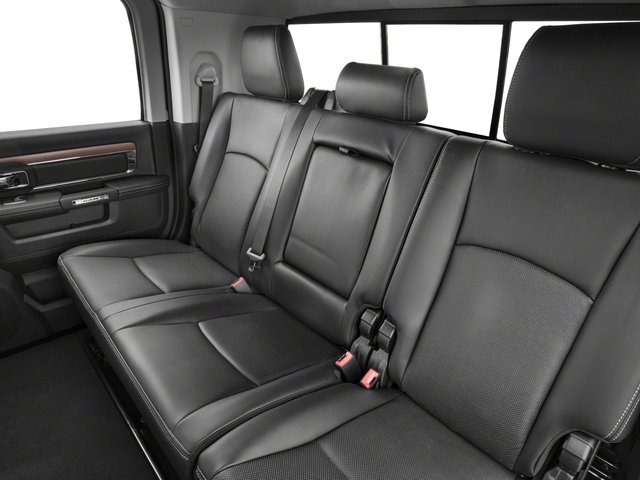 2017 Ram Truck 3500 Base Price Limited 4x4 Mega Cab 6'4 Box Pricing backseat interior