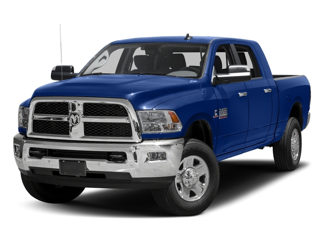 2017 Ram Truck 3500 Pictures 3500 Mega Cab SLT 4WD photos side front view