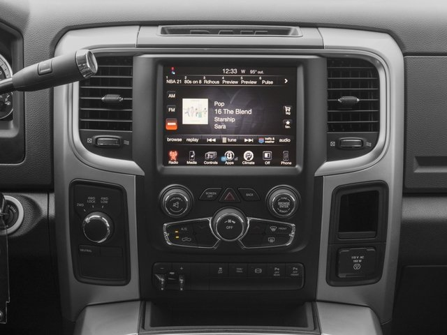2017 Ram Truck 3500 Prices and Values Mega Cab Bighorn/Lone Star 2WD stereo system