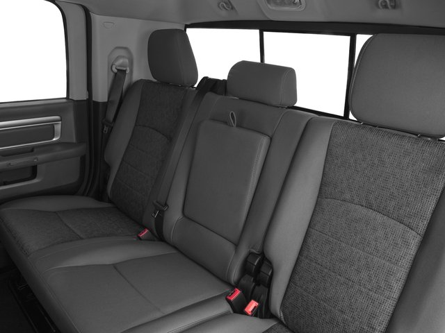 2017 Ram Truck 3500 Prices and Values Mega Cab SLT 2WD backseat interior