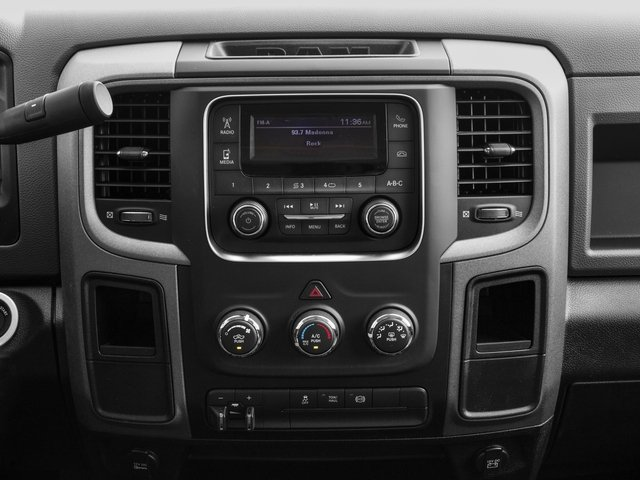 2017 Ram Truck 3500 Prices and Values Crew Cab Tradesman 2WD stereo system