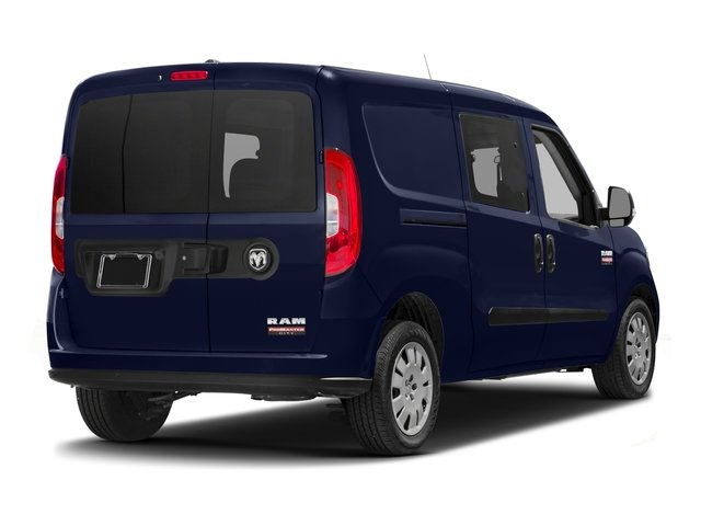 2017 Ram Truck ProMaster City Wagon Prices and Values Passenger Van SLT side rear view