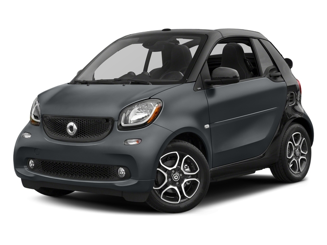 2017 smart fortwo Pictures fortwo Convertible 2D Prime I3 Turbo photos side front view