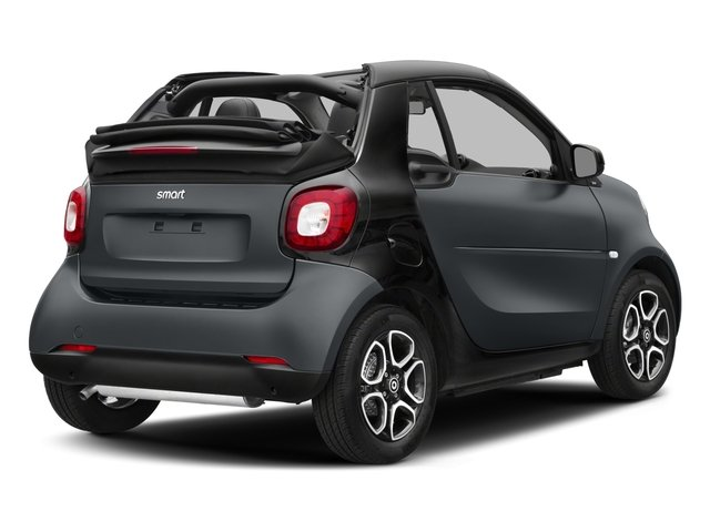 2017 smart fortwo Base Price passion cabriolet Pricing side rear view