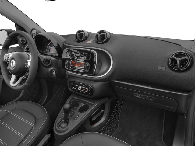 2017 smart fortwo Base Price passion cabriolet Pricing passenger's dashboard