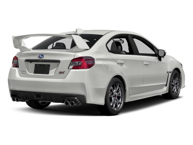 2017 Subaru Wrx Pictures Sti Limited Manual W Wing Spoiler Photos Side Rear View