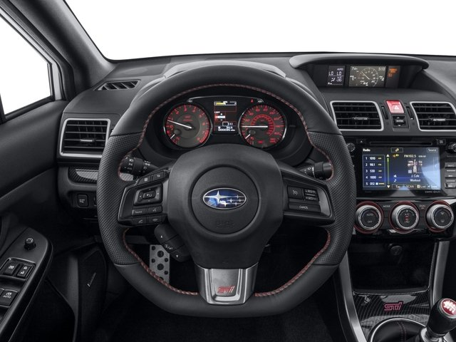 2017 Subaru Wrx Prices And Values Sedan 4d Sti Limited Awd Turbo Driver S Dashboard