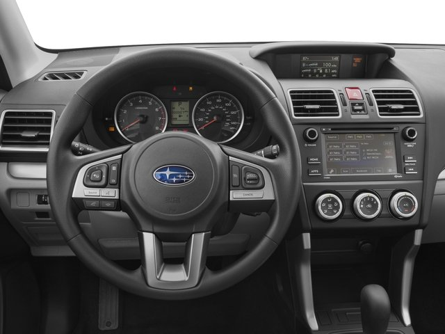 2017 Subaru Forester 2 5i Manual Driver S Dashboard