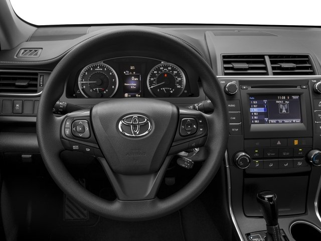2017 Toyota Camry Prices and Values Sedan 4D LE I4 driver's dashboard