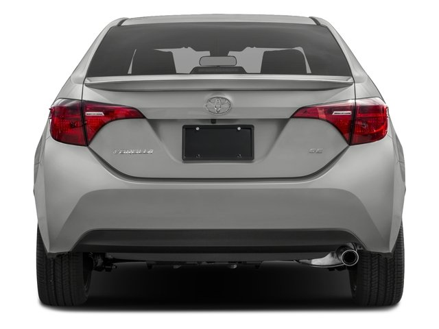 2017 Toyota Corolla Prices and Values Sedan 4D SE I4 rear view