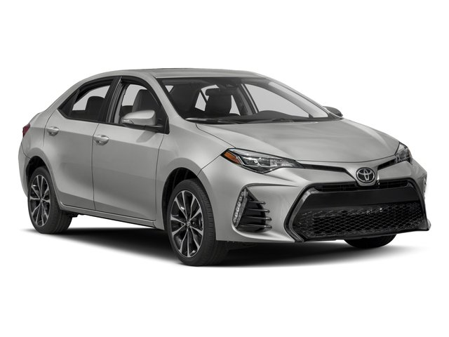 2017 Toyota Corolla Prices and Values Sedan 4D SE I4 side front view