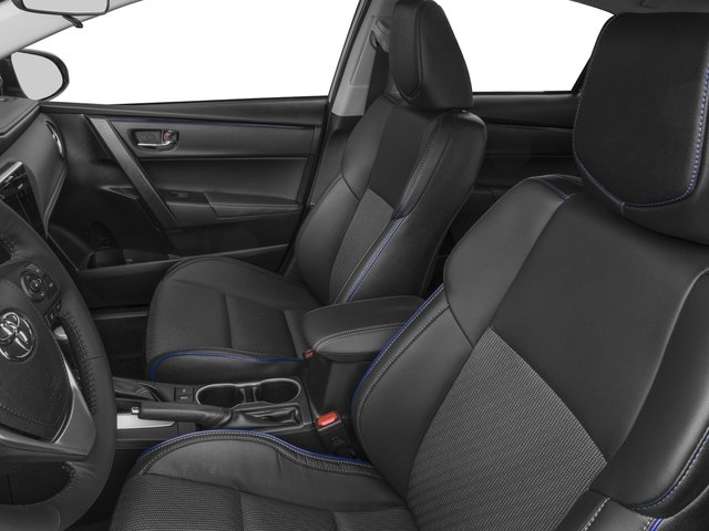 2017 Toyota Corolla Prices and Values Sedan 4D SE I4 front seat interior
