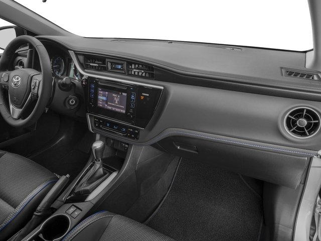 2017 Toyota Corolla Prices and Values Sedan 4D SE I4 passenger's dashboard