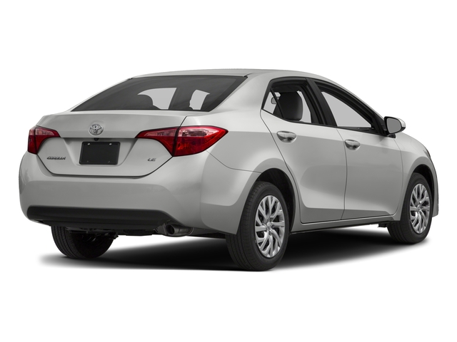 2017 Toyota Corolla Pictures Corolla Sedan 4D L I4 photos side rear view