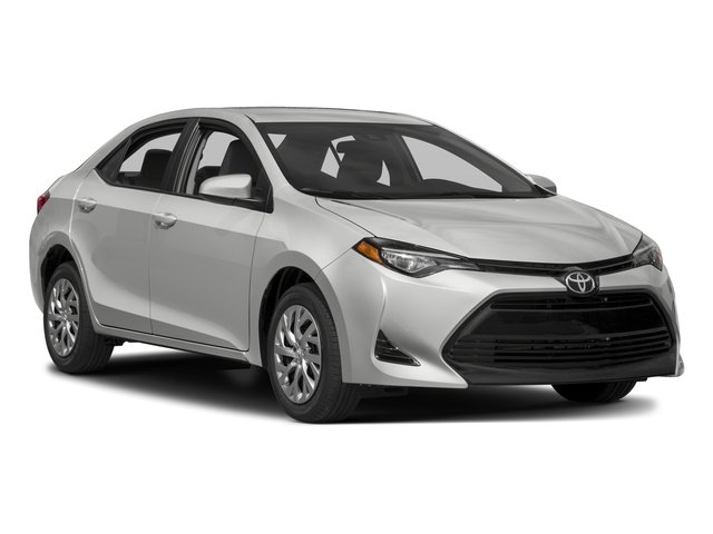 2017 Toyota Corolla Pictures Corolla Sedan 4D L I4 photos side front view