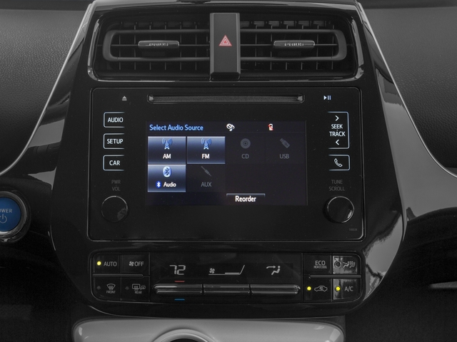 2017 Toyota Prius Prices and Values Liftback 5D Four I4 Hybrid stereo system
