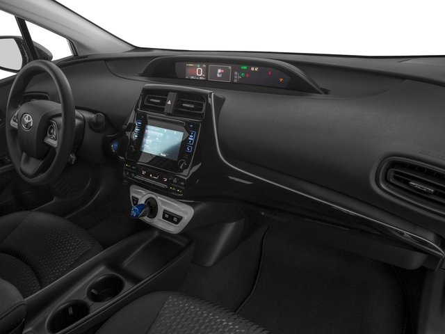 2017 Toyota Prius Prices and Values Liftback 5D Four I4 Hybrid passenger's dashboard