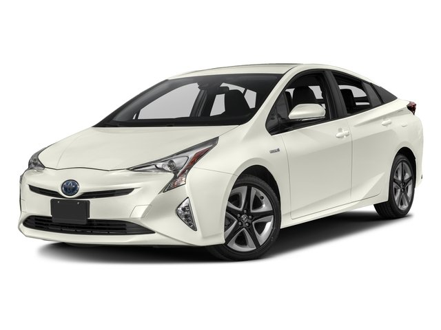 2017 Toyota Prius Prices and Values Liftback 5D Three Touring I4 Hybrid side front view