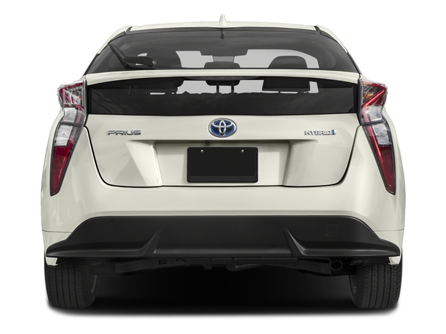 2017 Toyota Prius Prices and Values Liftback 5D Three Touring I4 Hybrid rear view