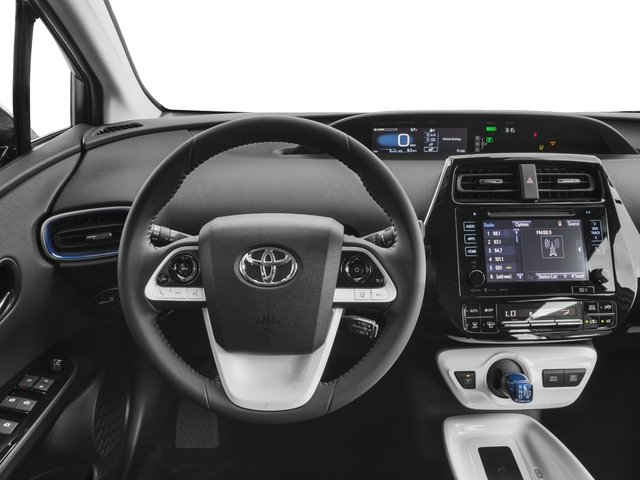 2017 Toyota Prius Prices and Values Liftback 5D Three Touring I4 Hybrid driver's dashboard