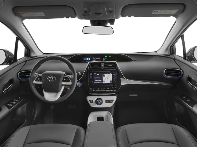 2017 Toyota Prius Prices and Values Liftback 5D Three Touring I4 Hybrid full dashboard
