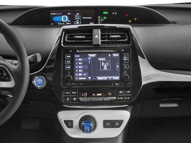 2017 Toyota Prius Prices and Values Liftback 5D Three Touring I4 Hybrid stereo system