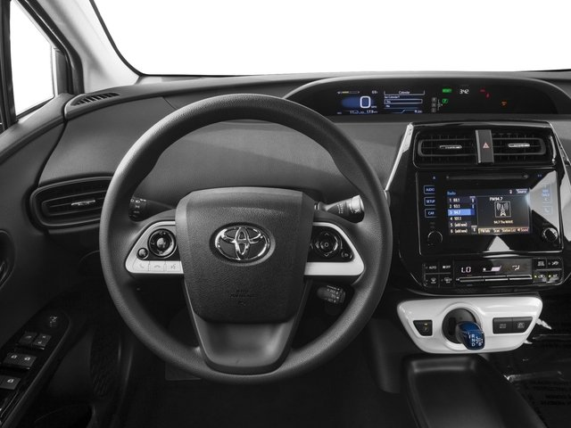 2017 Toyota Prius Prices and Values Liftback 5D Two Eco I4 Hybrid driver's dashboard