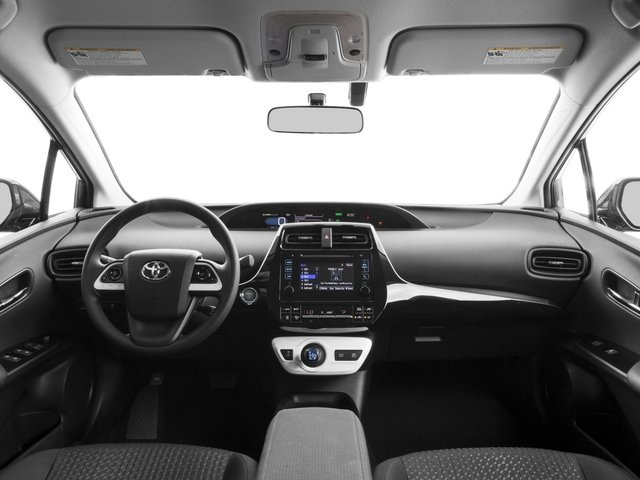 2017 Toyota Prius Prices and Values Liftback 5D Two Eco I4 Hybrid full dashboard