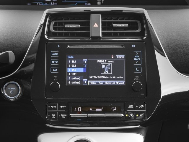 2017 Toyota Prius Prices and Values Liftback 5D Two Eco I4 Hybrid stereo system