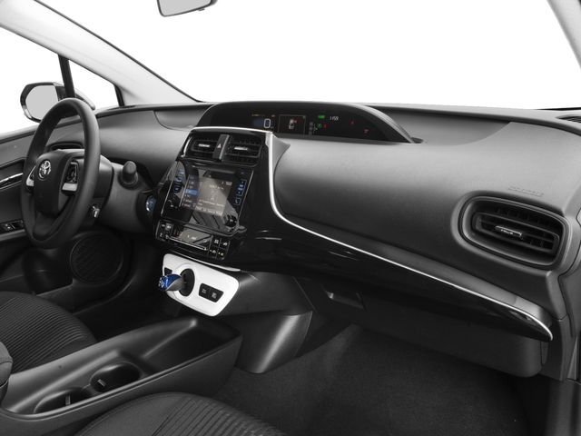 2017 Toyota Prius Prices and Values Liftback 5D Two Eco I4 Hybrid passenger's dashboard