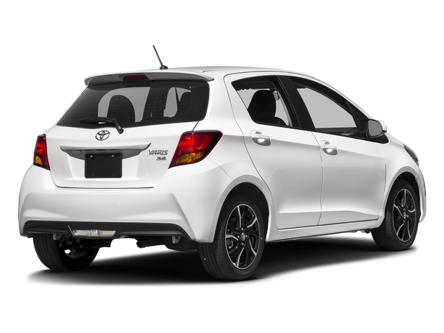 2017 Toyota Yaris Pictures Yaris Hatchback 5D SE I4 photos side rear view