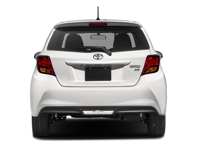 2017 Toyota Yaris Pictures Yaris Hatchback 5D SE I4 photos rear view