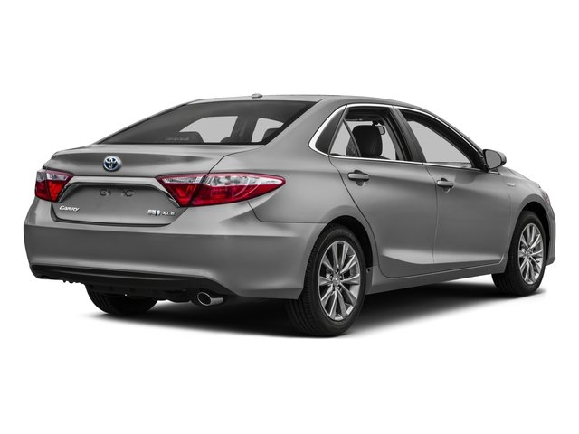 2017 Toyota Camry Base Price Hybrid Xle Cvt Pricing Side Rear View