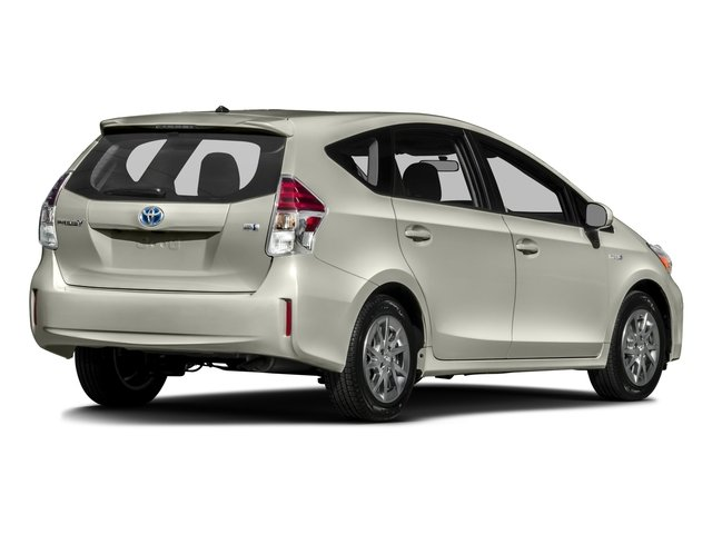2017 Toyota Prius v Prices and Values Liftback 5D v Two I4 Hybrid side rear view