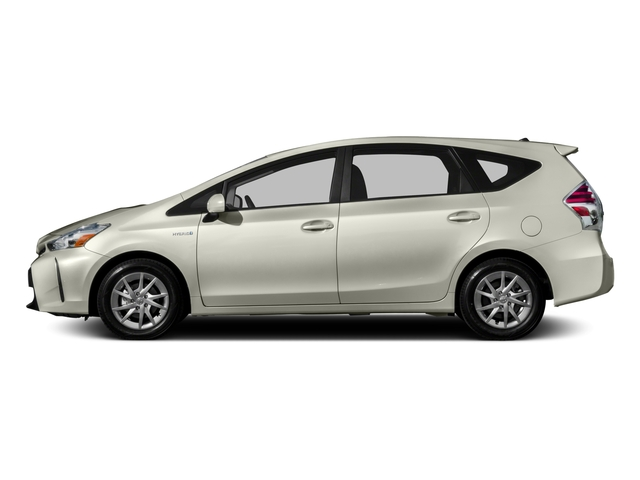 2017 Toyota Prius v Prices and Values Liftback 5D v Two I4 Hybrid side view