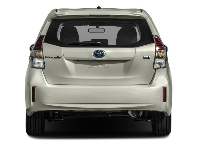 2017 Toyota Prius v Prices and Values Liftback 5D v Two I4 Hybrid rear view