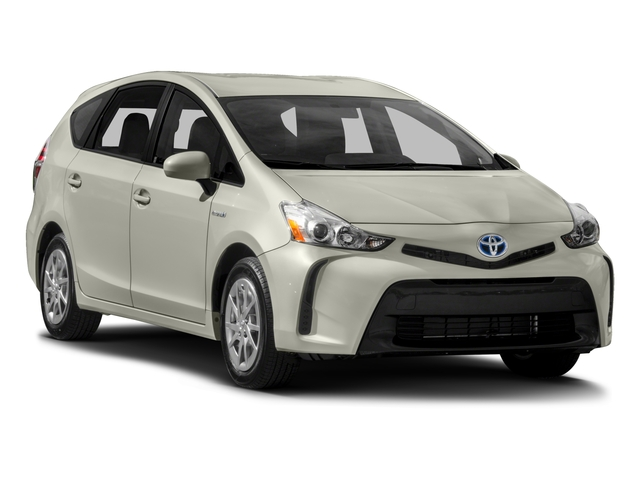 2017 Toyota Prius v Prices and Values Liftback 5D v Two I4 Hybrid side front view