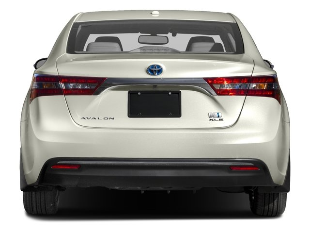 2017 Toyota Avalon Base Price Hybrid Xle Premium Pricing Rear View